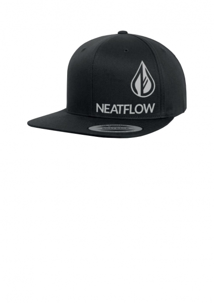 NEATFLOW Team Cap Snapback black Organic Cotton